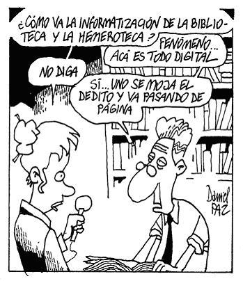 El estereotipo de los bibliotecarios