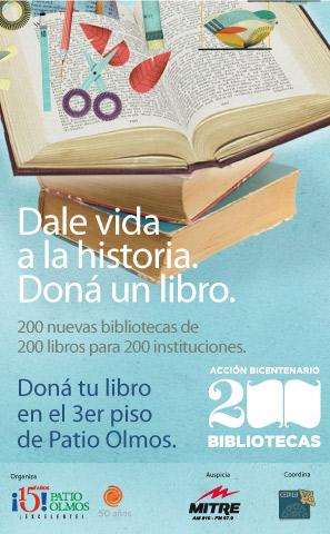 Acción Bibliotecas Bicentenario