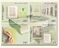 Estampillas de Bibliotecas del Correo Argentina