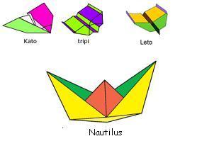 Modelar aviones y barcos en papel