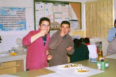 Ciencia en la cocina : la química de la Paella