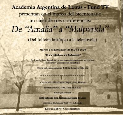 Academia Argentina de Letras : de Amalia a Malparida