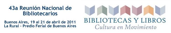 Reunión anual de Bibliotecarios Argentinos